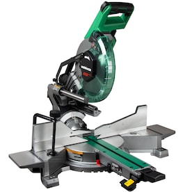 Metabo HPT Hitachi Power Tool 10-in 15-Amp Dual Bevel Sliding Compound Miter Saw
