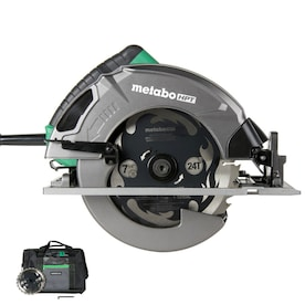 Metabo HPT (was Hitachi Power Tools) 7-1/4-in Corded Circular Saw with Aluminum Shoe and Soft Case