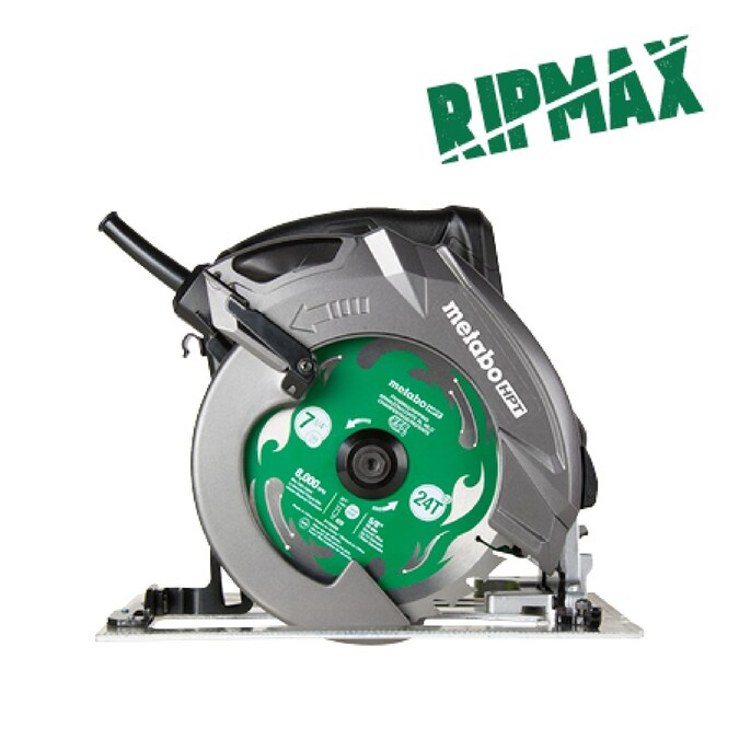 Metabo Hpt Was Hitachi Power Tools Ripmax 15 Amp 7 1 4 In Corded Circular Saw With Aluminum Shoe In The Circular Saws Department At Lowes Com