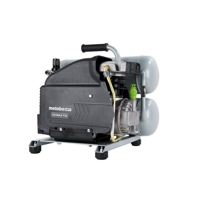 Certified Refurbished Hitachi EC99S Portable 4 Gallon Twin Stack Air Compressor