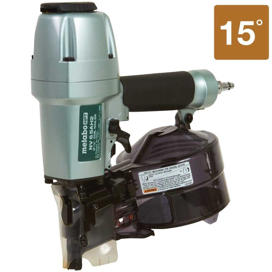 Hitachi Gauge Siding Pneumatic Nailer At Lowes Com