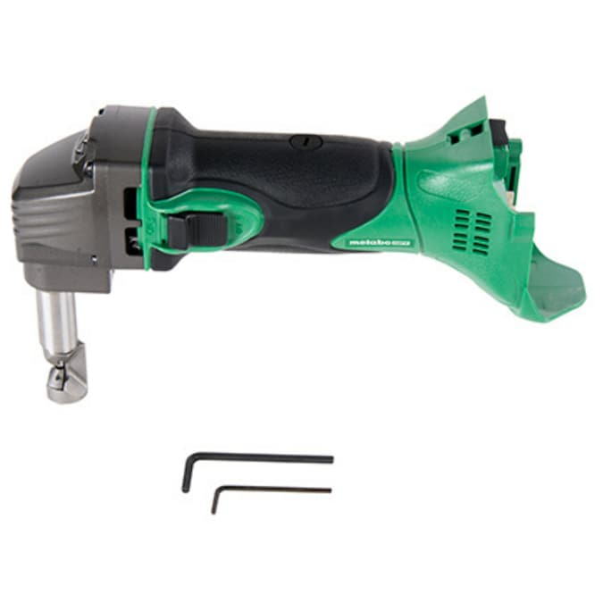 Metabo Hpt Was Hitachi Power Tools 18 Gauge Variable Speed 18 Volt Cordless Metal Shears In The Metal Shears Department At Lowes Com