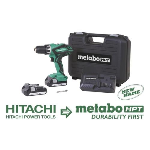 Metabo HPT (was Hitachi Power Tools) 18 V Lithium Ion Compact Driver Drill (1.3Ah) at Lowes.com