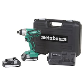 Metabo HPT 18-Volt Variable Speed Cordless Impact Driver (Charger and 2-Batteries Included)