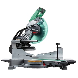 Metabo HPT (was Hitachi Power Tools) MultiVolt 10-in 15-Amp 36-Volt Dual Bevel Bevel Sliding Compound Cordless/Corded Miter Saw