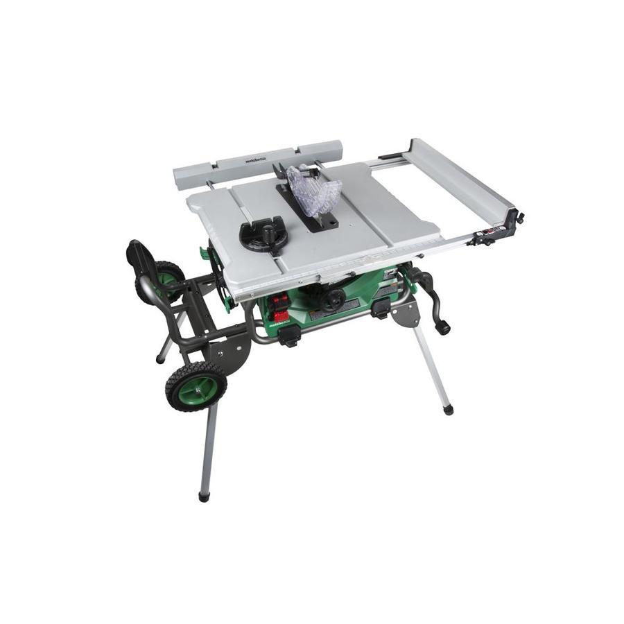 Table Miter Saw Bench Sliding Cut Durable Rust Proof Blade Aluminum Vacuum Port