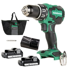 Metabo HPT (was Hitachi Power Tools) MultiVolt 18-Volt 1/2-in Brushless Cordless Drill (Charger and 2-Batteries Included)