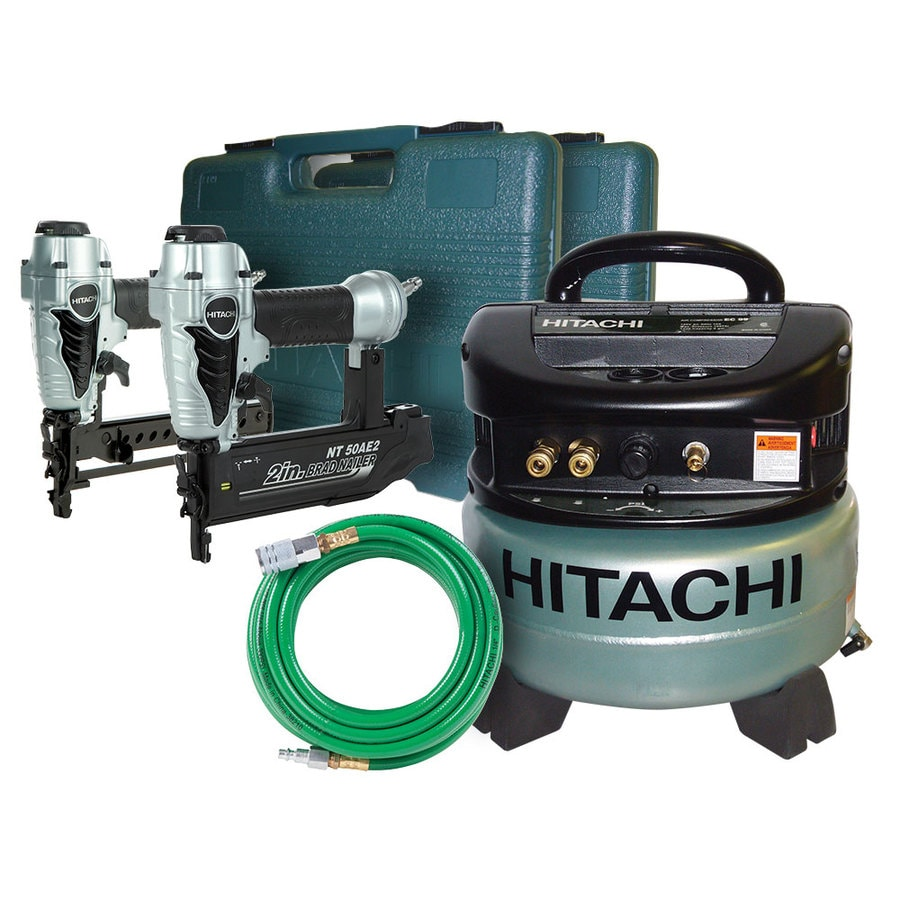Hitachi 6-Gallon Portable 145-PSI Electric Pancake Air Compressor