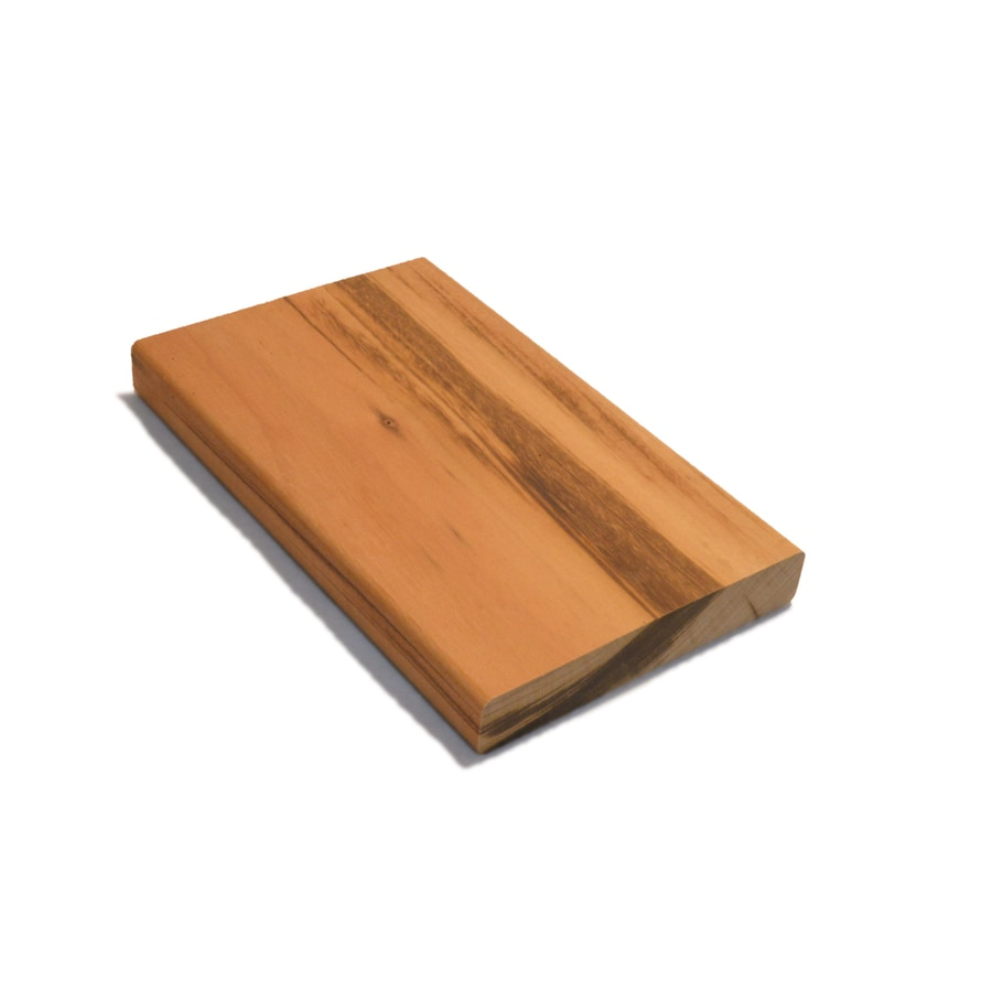 Tiger Deck Square Tigerwood Deck Board (Common: 1-in x 6-in x 8-ft; Actual: 0.72-in x 5.44-in x 8-ft)