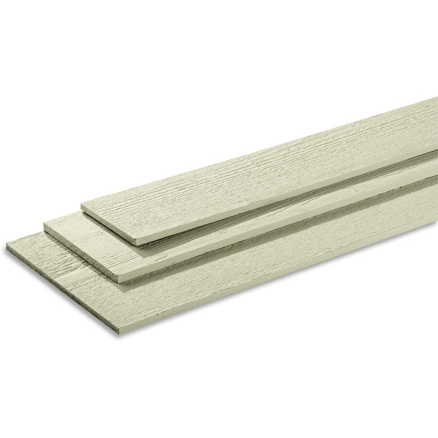 SmartSide (Common: 0.375-in x 48-in x 96-in; Actual: 0.4375-in x 47.938-in x 95.875-in) 76 Series Primed Engineered Treated Wood Siding Panel