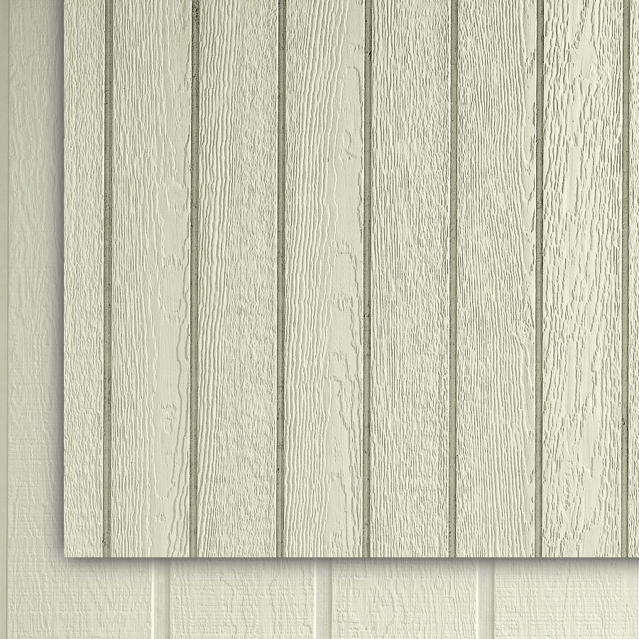 SmartSide (Common: 0.375-in x 48-in x 108-in; Actual: 0.315-in x 48.563-in x 107.875-in) 38 Series Primed Engineered Treated Wood Siding Panel