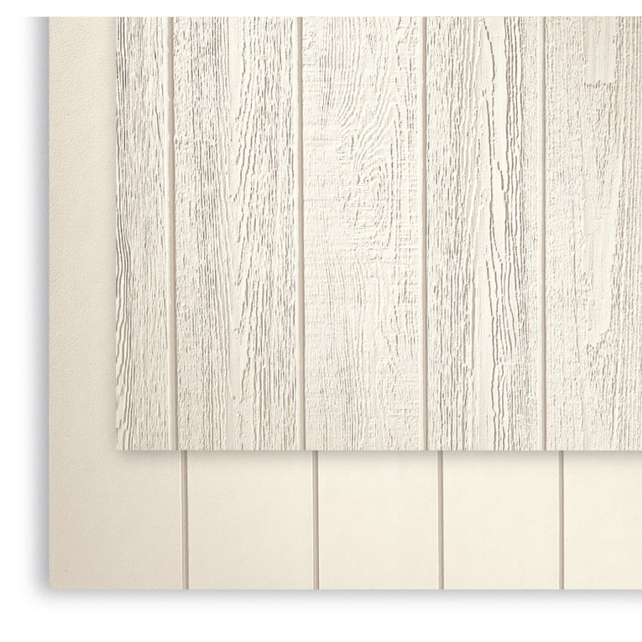 SmartSide (Common: 0.375-in x 48-in x 108-in; Actual: 0.4375-in x 48.563-in x 107.875-in) 76 Series Primed Engineered Treated Wood Siding Panel