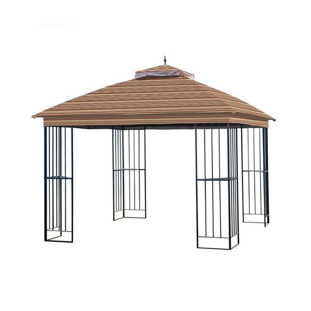 Garden Winds Replacement Canopy For Garden Treasures Steel
