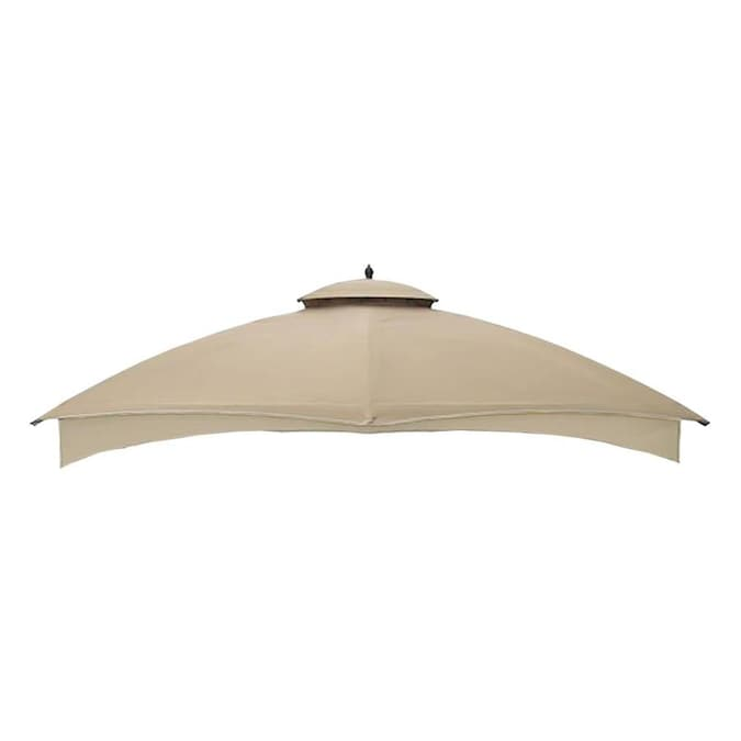 Eurmax Replacement Canopy Top for Lowes Allen Roth 10X12 Gazebo #GF-12S004B-1 Burgundy