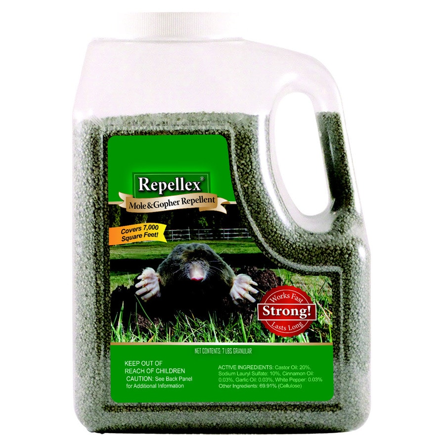 Repellex Mole And Gopher 7 Lb Animal Repellent