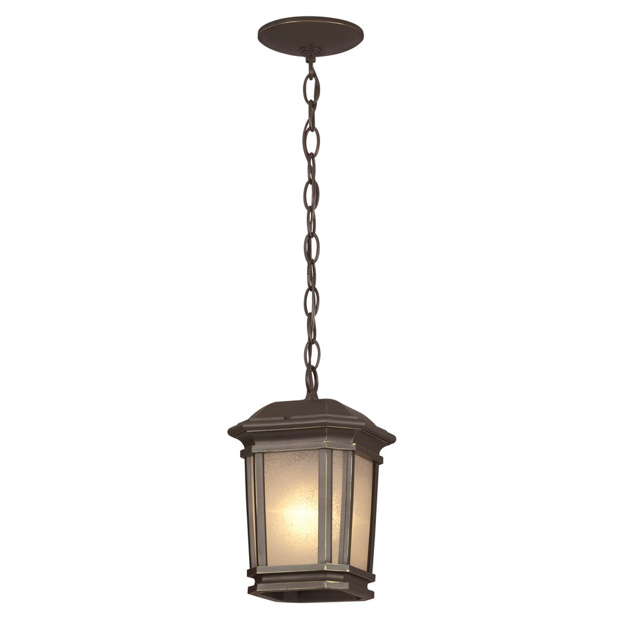 Portfolio Corrigan 7-in Dark Brass Single Pendant