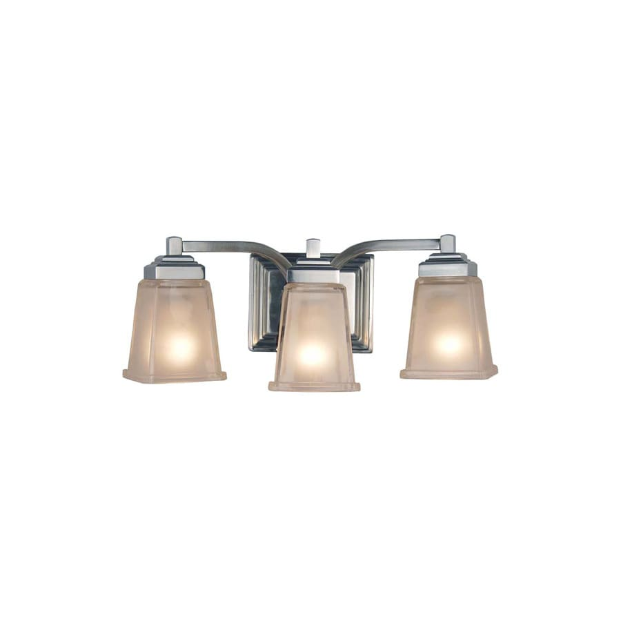 roth elloree 3 light brushed nickel vanity light at. Black Bedroom Furniture Sets. Home Design Ideas