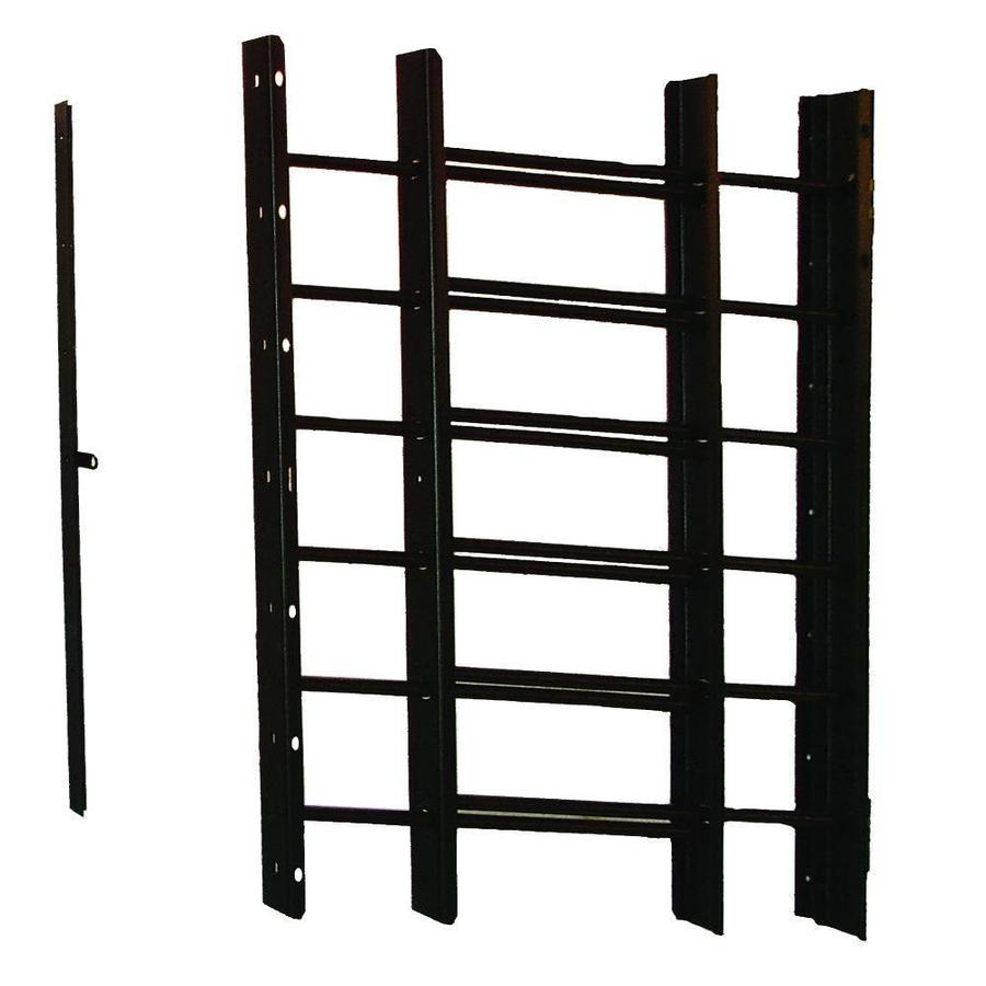 Grisham 24-in Black 6-Bar Window Safety Guard