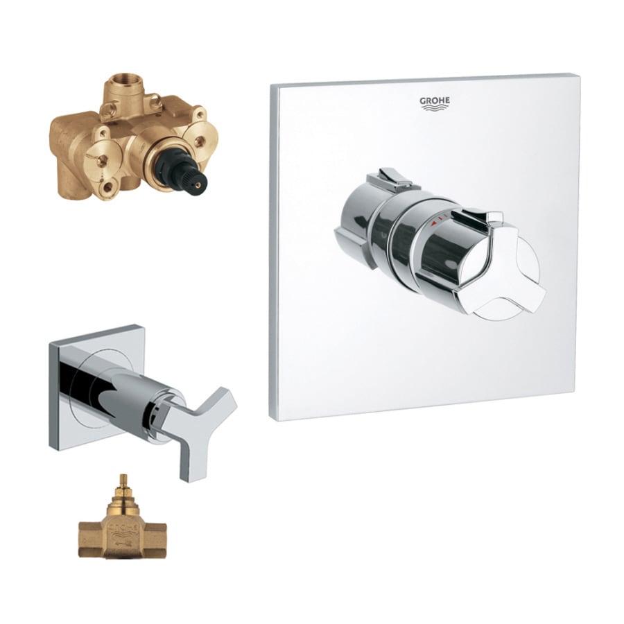GROHE Chrome Knob Shower Handle