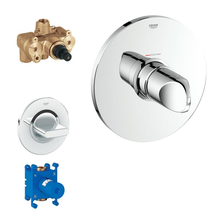 GROHE VERIS KIT THERM LVR HNDL 3/4-in W/STP