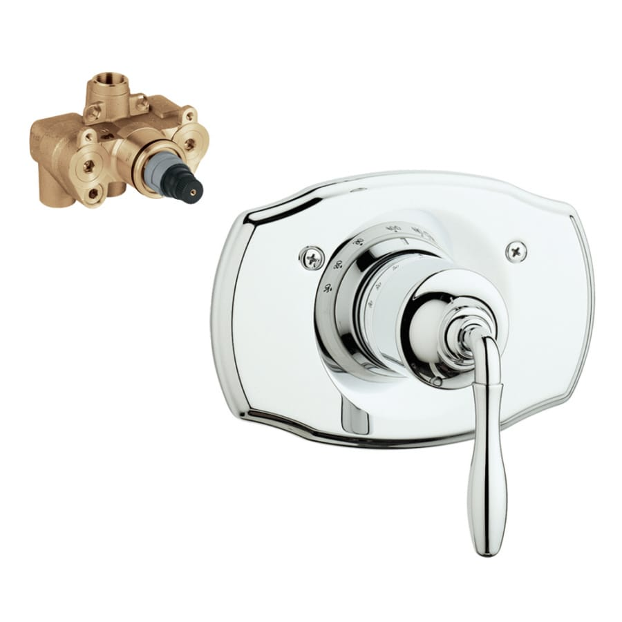 GROHE Chrome Lever Shower Handle
