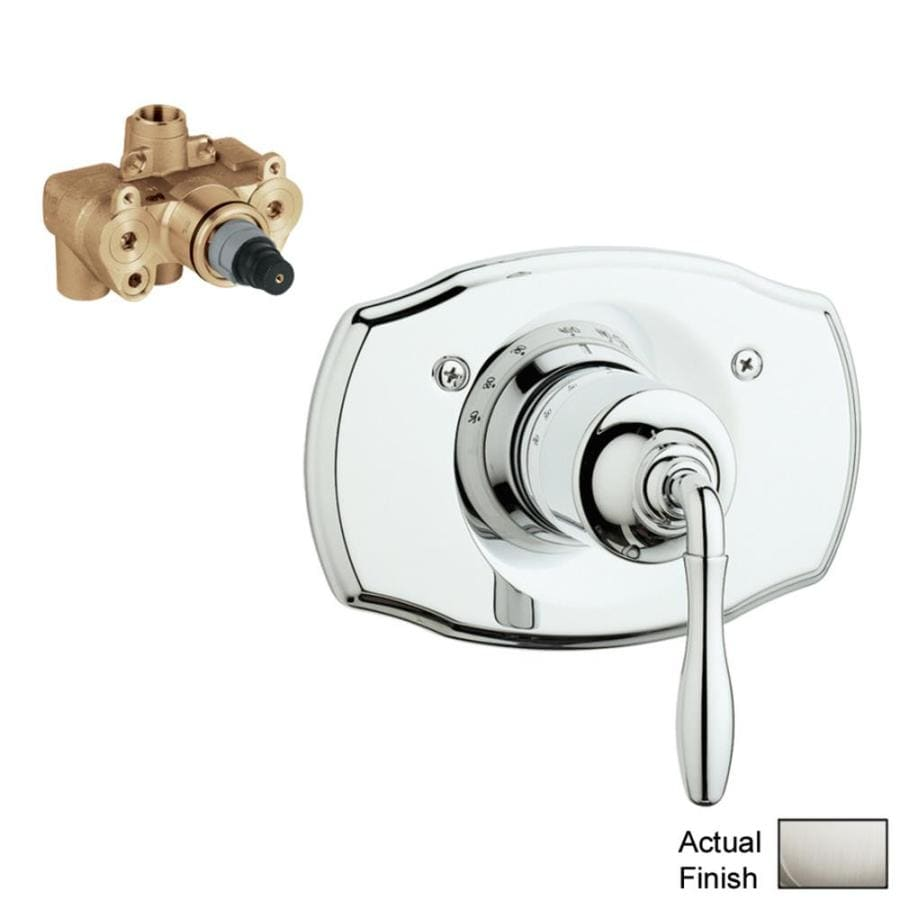 GROHE Nickel Tub/Shower Trim Kit