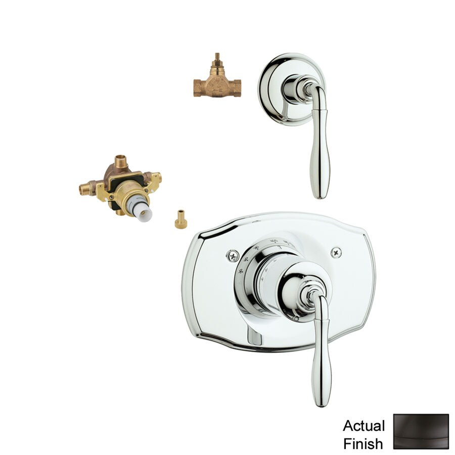 GROHE 3-Pack Bronze Bathtub/Shower Handles