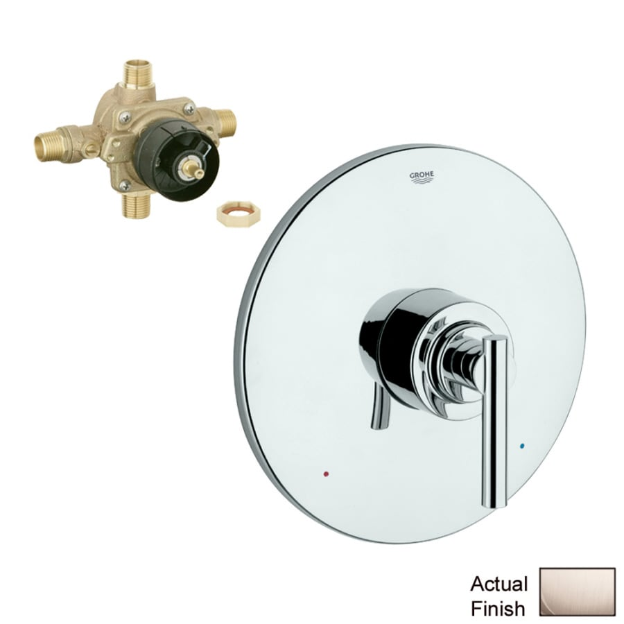 GROHE Brushed Nickel Lever Shower Handle