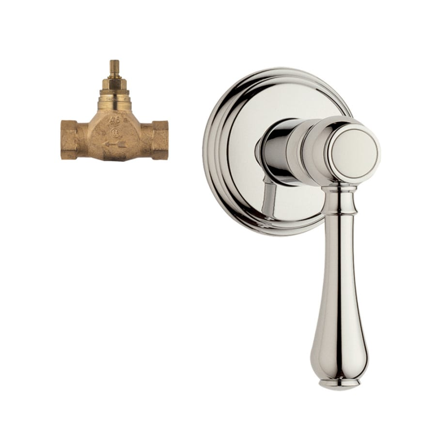 GROHE Polished Nickel Lever Shower Handle