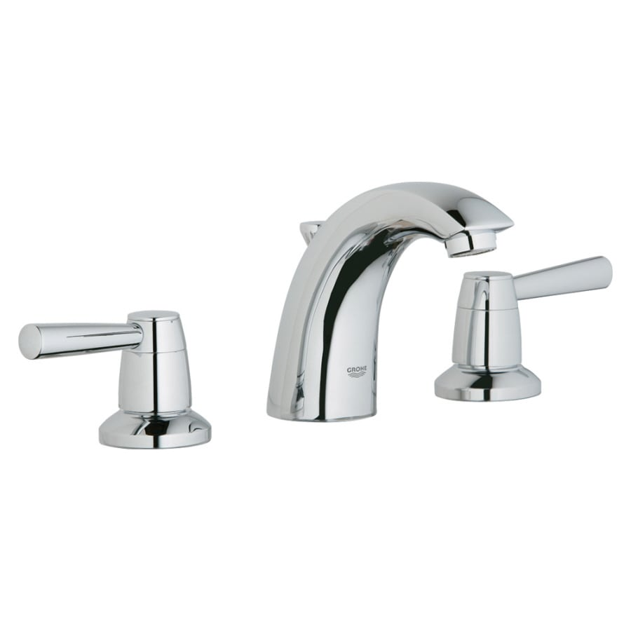 GROHE Arden Chrome 2-Handle Widespread WaterSense Bathroom Faucet (Drain Included)