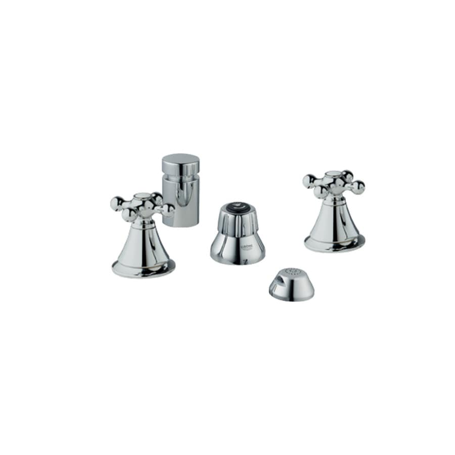 GROHE Seabury Starlight Chrome Vertical Spray Bidet Faucet