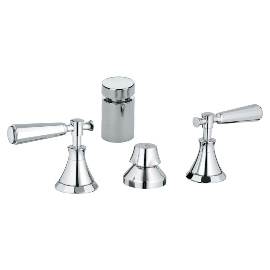 GROHE Kensington Starlight Chrome Vertical Spray Bidet Faucet