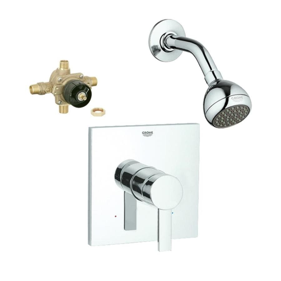 Grohe Allure Bathroom Faucet: Shop GROHE Allure Starlight Chrome 1-Handle Shower Faucet