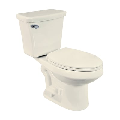 Dual Flush Biscuit 1 6 Gpf 06 4 16 Lpf 12 In Rough Elongated 2 Piece Chair Height Toilet