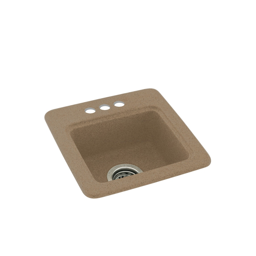 Swanstone Barley 3-Hole Composite Drop-in Residential Bar Sink