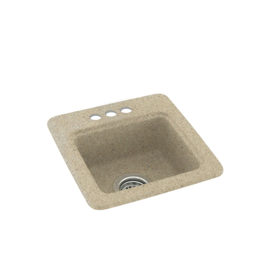 Swanstone Prairie 3-Hole Composite Drop-in Residential Bar Sink