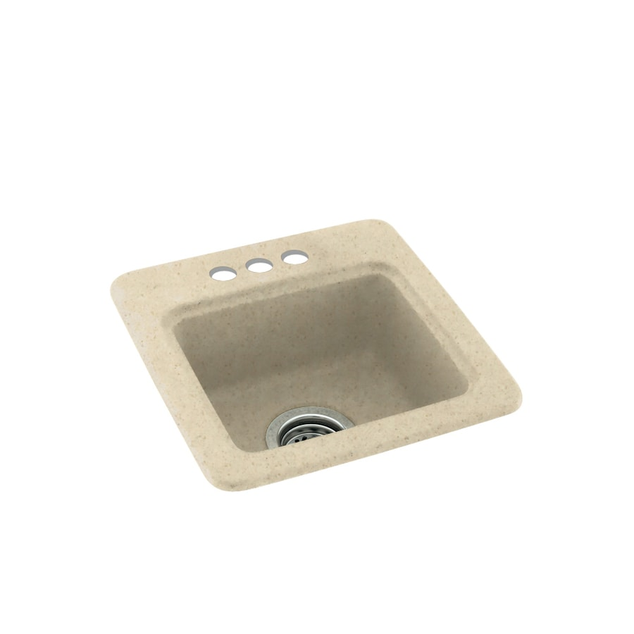 Swanstone Caraway Seed 3-Hole Composite Drop-in Residential Bar Sink