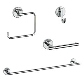 Merveilleux DELTA 4 Piece Trinsic Chrome Decorative Bathroom Hardware Set