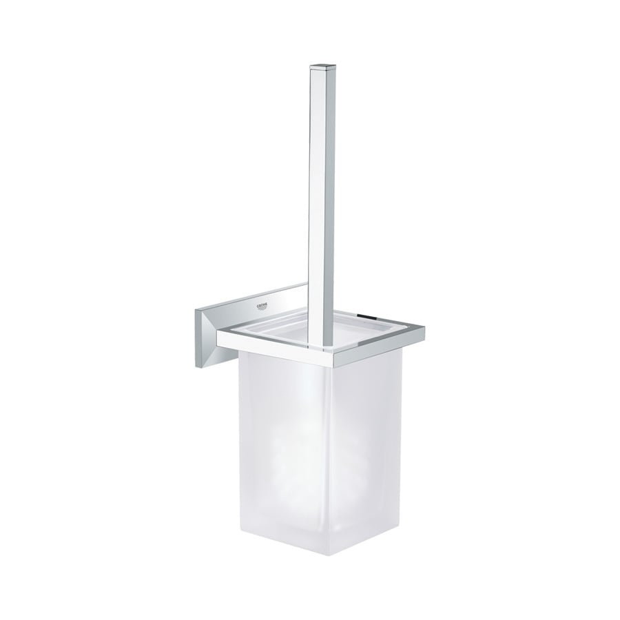 GROHE Allure Brilliant Chrome Brass Toilet Brush Holder