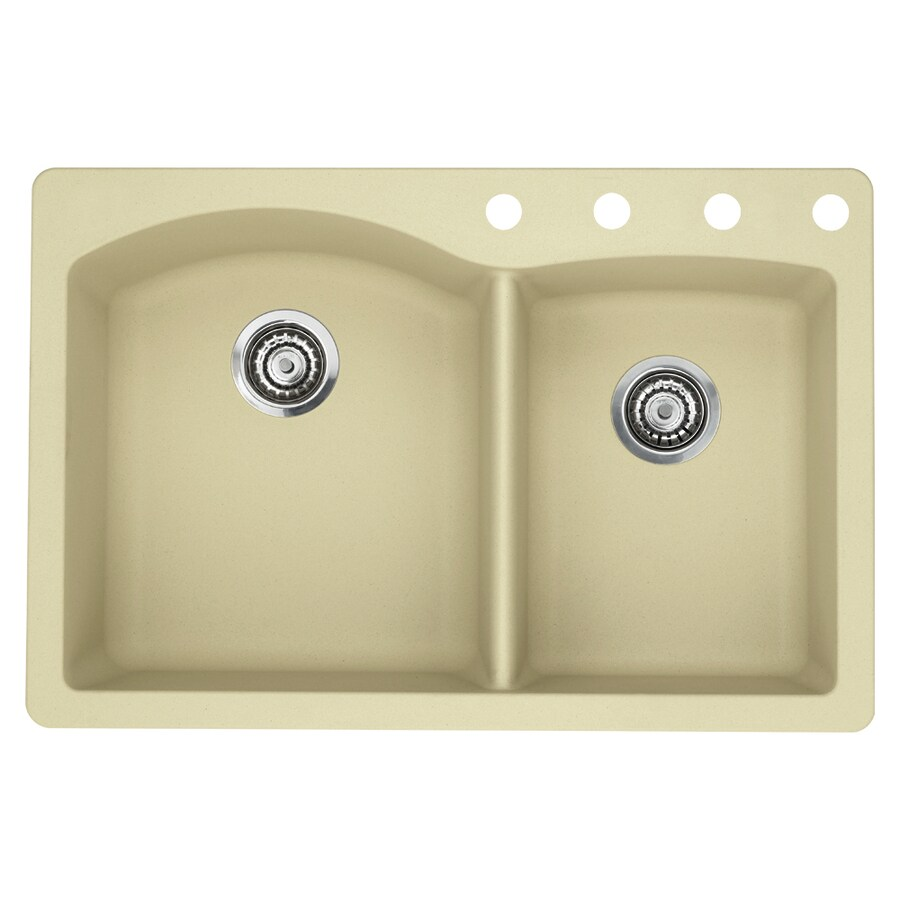 blanco diamond sink shop blanco 22 in x 33 in biscotti basin 980