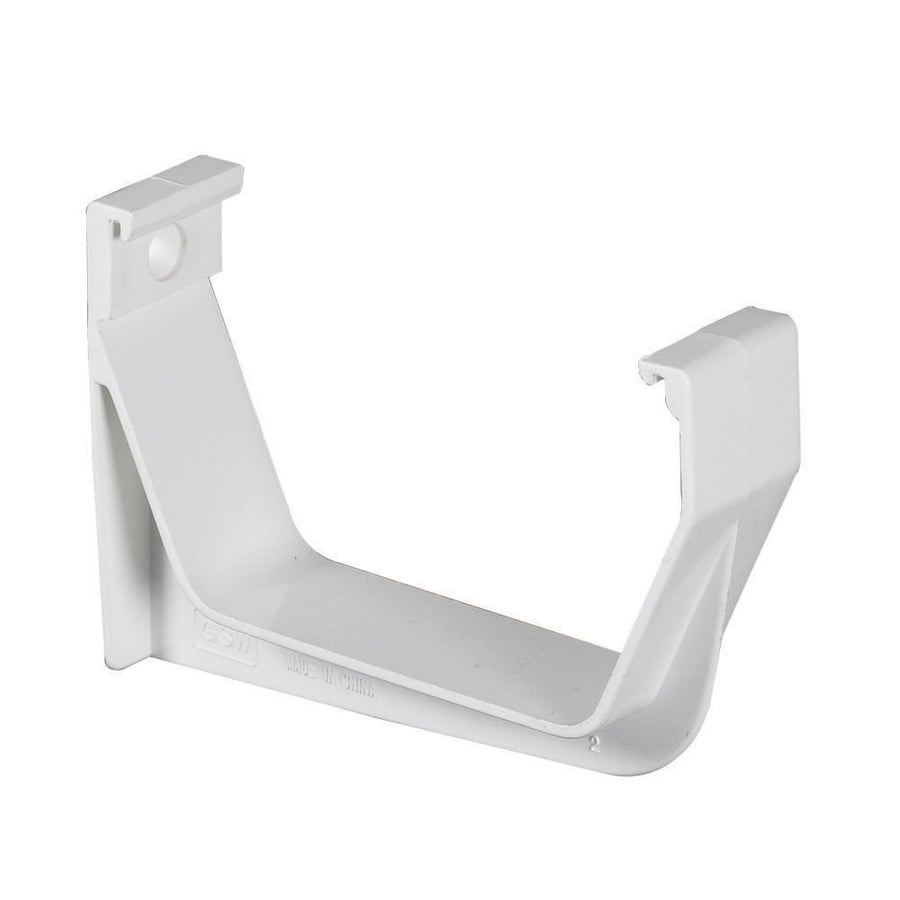 Amerimax Contemporary Vinyl Gutter Bracket At Lowes Com