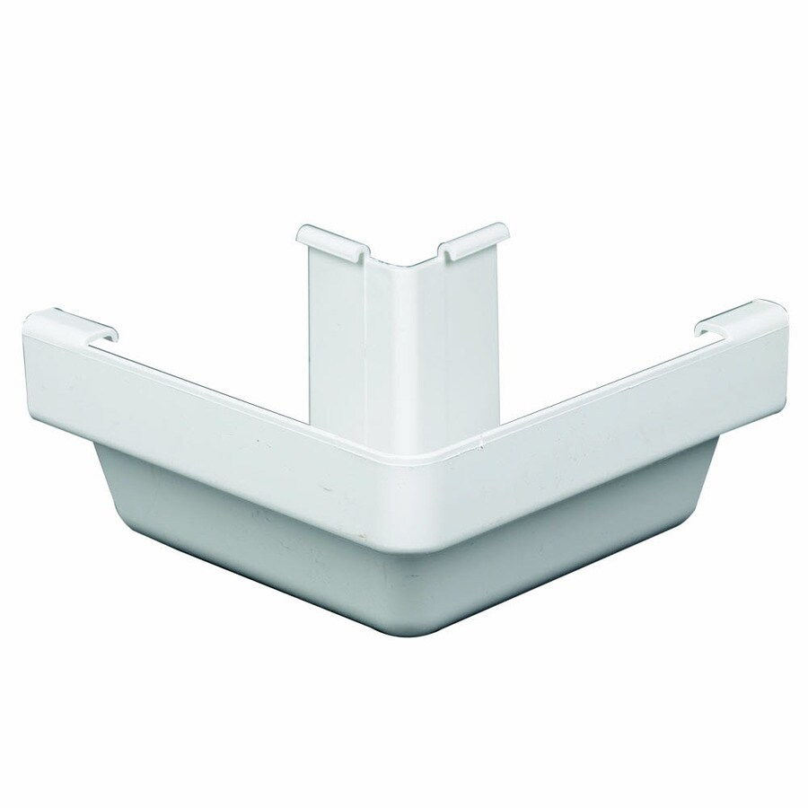 Amerimax Traditional 5-in x 6.25-in K Style Gutter Outside Corner