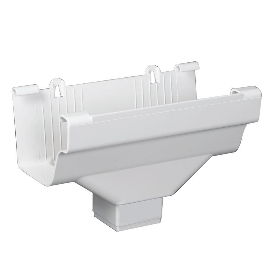 Amerimax Traditional 5-in x 9-in K Style Gutter Drop Outlet