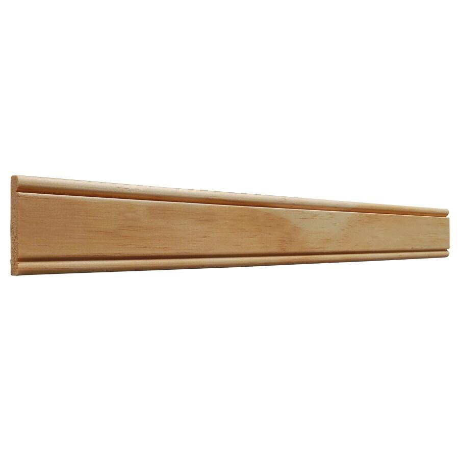 2-in x 8-ft Interior Pine Backband Window and Door Casing