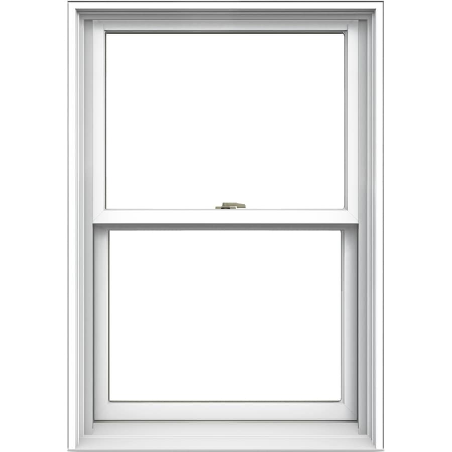 Aluminum Window Construction : Shop jeld wen tradition aluminum clad double pane annealed