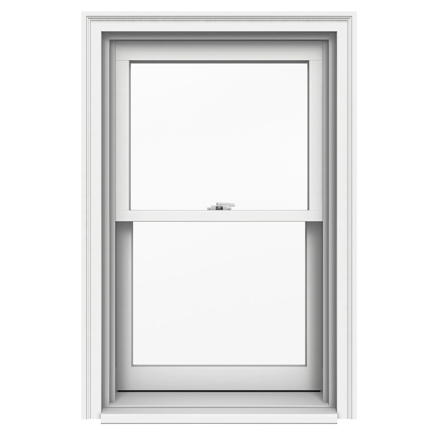 JELD-WEN Premium Wood Double Pane Annealed Double Hung Window (Rough Opening: 26.125-in x 41.25-in; Actual: 25.375-in x 40.5-in)