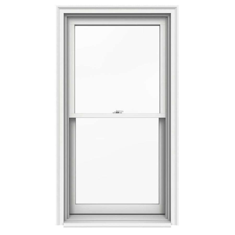 JELD-WEN Premium Wood Double Pane Annealed Double Hung Window (Rough Opening: 30.125-in x 57.25-in; Actual: 29.375-in x 56.5-in)