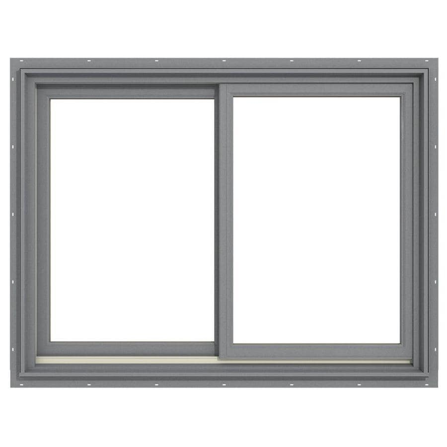 Shop jeld wen premium both operable aluminum clad new for New construction windows reviews