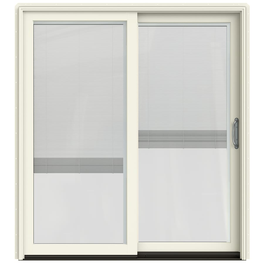 Shop JELD WEN W 2500 Blinds Between The Glass French Vanilla Wood Sl
