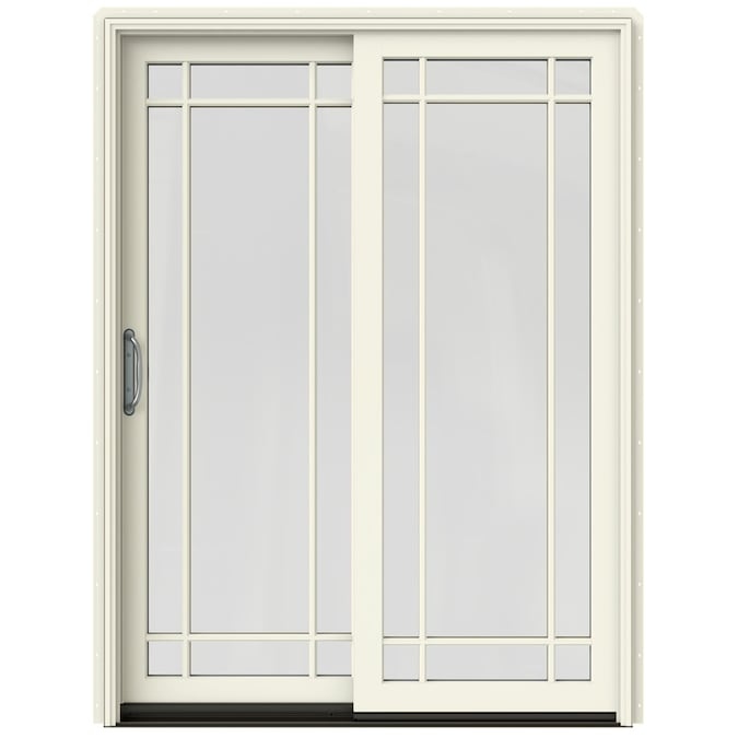 JELD-WEN Simulated Divided Light Vanilla Clad-Wood Left